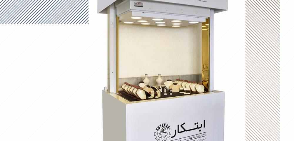 صندوق نسوز آسانسوری ویترینی طلا و جواهرات