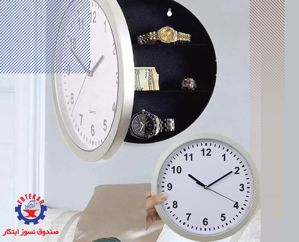 درون ساعت دیواری